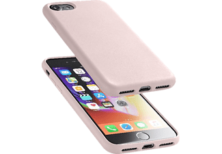CELLULAR LINE Sensation Silkon Case Handyhülle, Pink, passend für Apple iPhone 7, iPhone 8