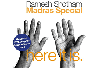 Ramesh / Madras Special Shotham - Here It Is! - (CD)