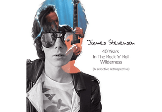 James Stevenson - 40 Years In The Rock 'n'Roll Wilderness - (CD)