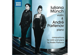 Münch,Iuliana/Parfenov,André - The Piano Legend of the Violin - (CD)