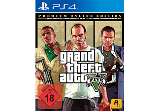 GTA 5: Grand Theft Auto V - Premium - PlayStation 4
