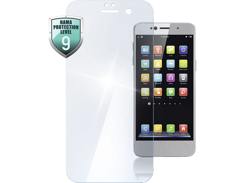 HAMA Premium Crystal Glass Schutzglas (Huawei  Honor 9)