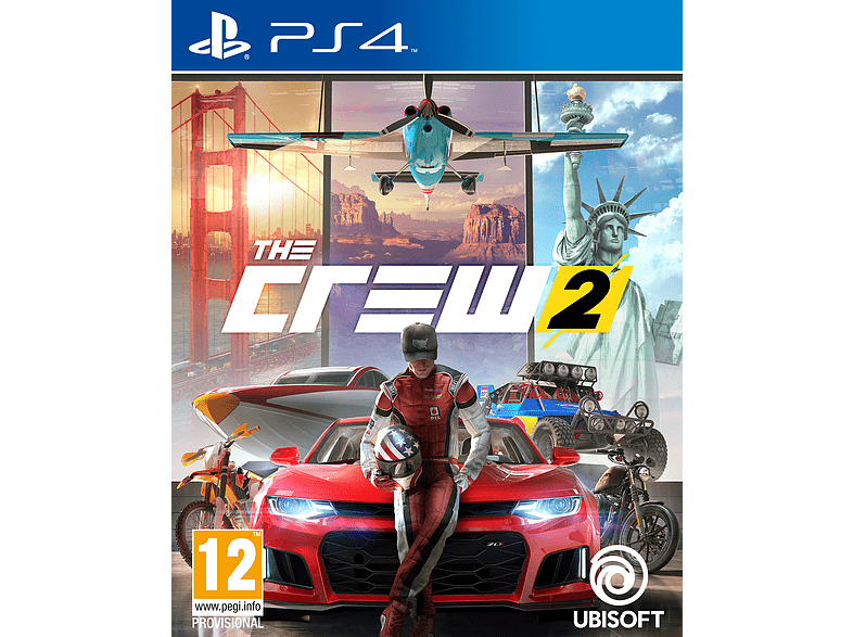 The Crew 2 Standard Edition PlayStation 4