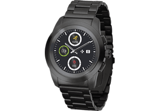 MYKRONOZ Zetime Petite Elite Brushed, Smartwatch, Metall, 210 mm, Schwarz
