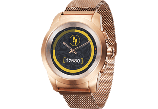 MYKRONOZ ZeTime Regular Elite Brushed, Smartwatch, Metall, 210 mm, Pink/Gold