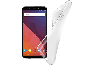 Shape Backcover Wiko View TPU-Material Transparent