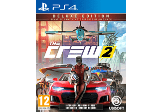 The Crew 2 Deluxe Edition NL/FR PS4