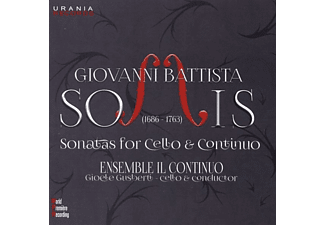 Ensemble Il Continuo - XII Sonate a Violoncello [CD]