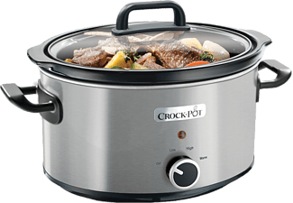 CROCK POT Slow Cooker 3,5 L Manuell – Rostfri