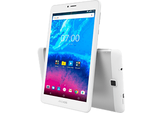 ARCHOS Core 70 3G, Tablet mit 7 Zoll, 1 GB RAM, Android 7.0 Nougat, Silber