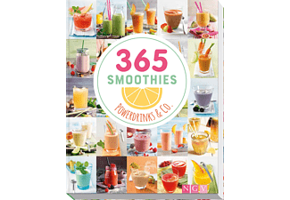 365 Smoothies, Powerdrinks & Co., Sachbuch (Gebunden)