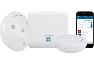HOMEMATIC IP 153405A0, Starter Set Wasseralarm, kompatibel mit: Homematic IP