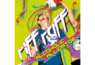 Riff Raff - Alcoholic Alligator - (CD)