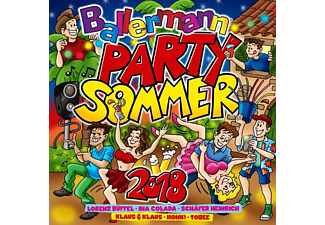 VARIOUS - Ballermann Party Sommer 2018 - (CD)