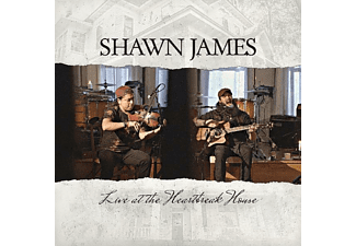 Shawn James - Live At The Heartbreak House - (CD)
