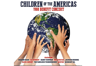 VARIOUS - Children Of The Americas-1988 Benefit Concert - (CD)
