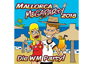 VARIOUS - Mallorca Megaparty 2018 - Die WM-Party! [CD]