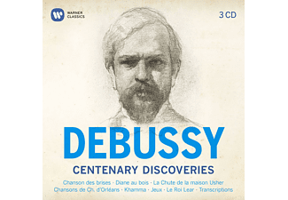 VARIOUS, Jean Pierre Armengaud, Cassard Philippe - Debussy-Centenary Discoveries - (CD)