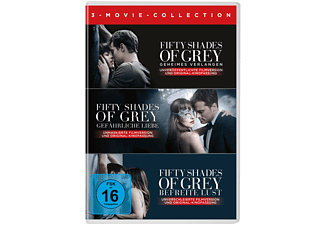 Fifty Shades of Grey 3-Movie Collection Drama DVD
