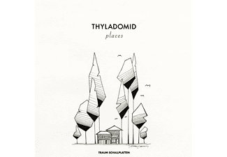 Thyladomid - Places (Ltd.Transparent Vinyl) - (Vinyl)