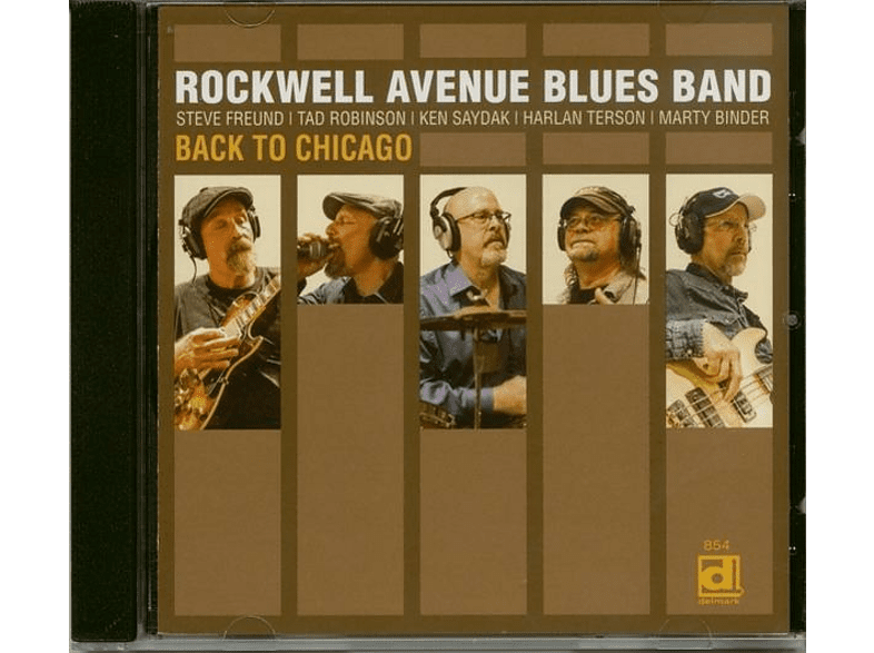 Rockwell Avenue Blues Band - Back To Chicago (CD) [CD]
