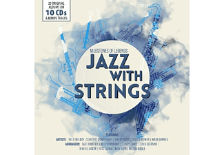 VARIOUS - Jazz With Strings - (CD)