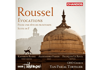Yan Pascal Tortelier - Evocations/Suite in F/Pour une Fete de Printemps [CD]