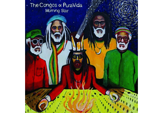 The Congos, Pura Vida - Morning Star (180g Marbled Coloured Vinyl LP) - (Vinyl)