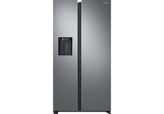 SAMSUNG Side by Side RS68N8320S9/EF mit Twin Cooling Plus in Silber