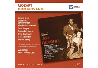 Wilhelm Furtwängler - Don Giovanni (Live Slazburg,1954) - (CD)