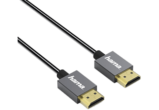 HAMA 135792 Premium elite high speed HDMI kábel ethernettel 0,75m