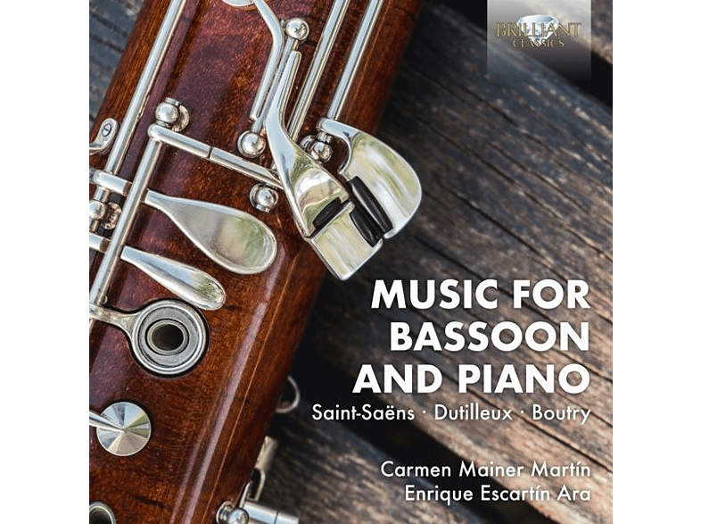 VARIOUS - Music For Bassoon And Piano [CD]