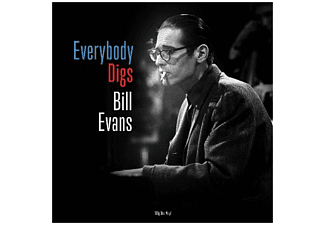 Bill Evans - Everybody Digs (blaues Vinyl) - (Vinyl)