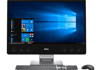 DELL XPS (7760) BLACK I7-7700/16GB/512GB, All-in-One PC, InfinityEdge Display, 512 GB Speicher, Core™ i7 Prozessor, Schwarz/Silber