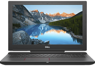 DELL INSPIRON 15 7577, Notebook mit 15.6 Zoll Display, Core™ i7 Prozessor, 16 GB RAM, 256 GB SSD, 1 TB HDD, GeForce GTX 1060, Schwarz