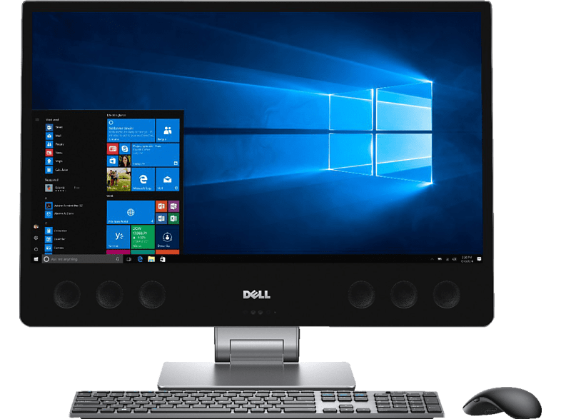 DELL XPS (7760), All-in-One PC, Core™ i5 Prozessor, 1 TB HDD, 32 GB SSD, Intel HD Graphics 630, Schwarz/Silber