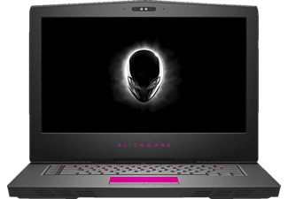 DELL ALIENWARE 15 R, Notebook mit 15.6 Zoll Display, Core™ i7 Prozessor, 16 GB RAM, 256 GB SSD, 1000 GB HDD, NVIDIA GeForce 1060, Silber