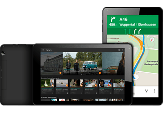 ODYS Goal 10, Tablet mit 10.1 Zoll, 1 GB RAM, Android 7.0, Schwarz