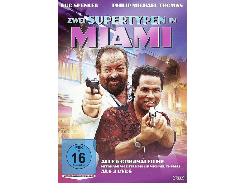 Extralarge I - Zwei Supertypen in Miami [DVD]