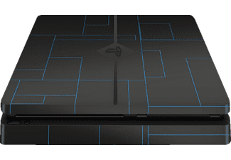 EPIC SKIN PS4 Slim Skin Sticker Tron blau, Skin Sticker, Tron Blau