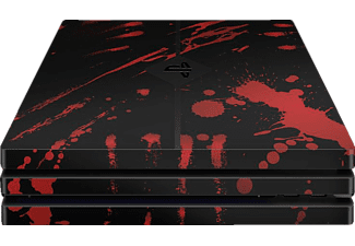 EPIC SKIN PS4 Pro Skin Sticker Blood schwarz, Skin Sticker, Blood Schwarz