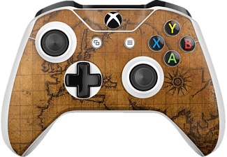 EPIC SKIN Xbox One S Controller Skin Sticker Atlas, Skin Sticker, Braun (Atlas)