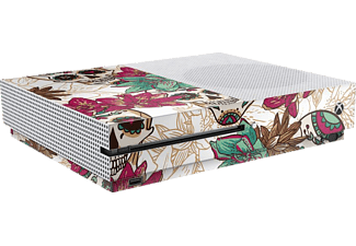 EPIC SKIN Xbox One S Skin Sticker Skull Flower weiss, Skin Sticker, Skull Flower (Weiß)