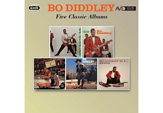 Bo Diddley - Five Classic Albums - (CD)