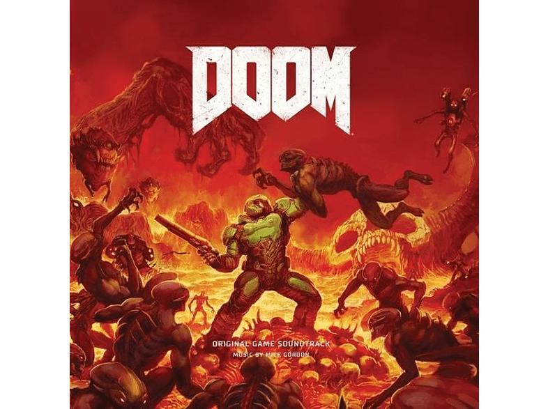 Mick Gordon - DOOM (Original Game Soundtrack) [CD]