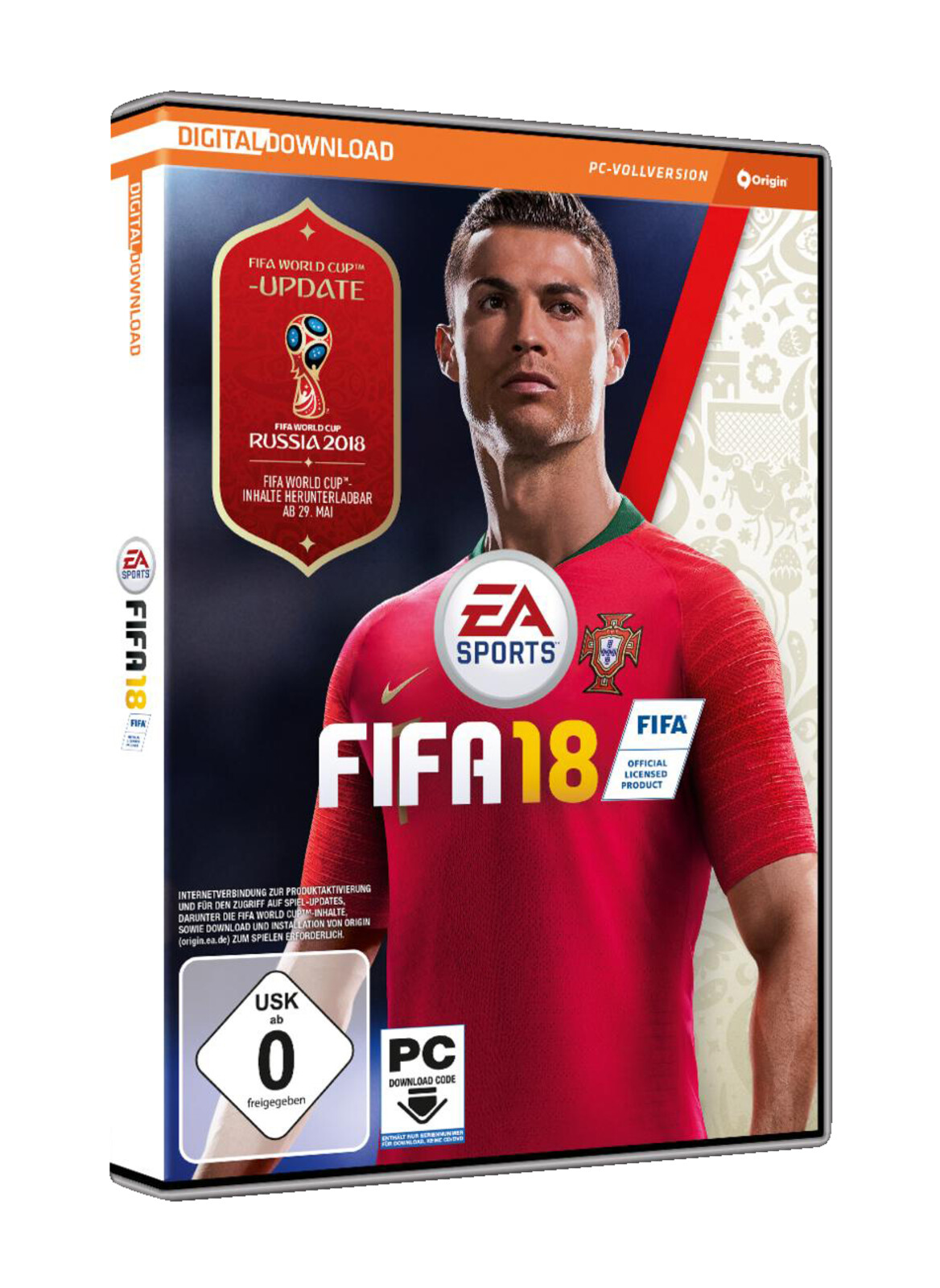 fifa 18 standard edition pc ebay. Black Bedroom Furniture Sets. Home Design Ideas