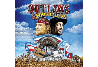 VARIOUS - Outlaws & Armadillos: Country's Roaring '70s - (CD)