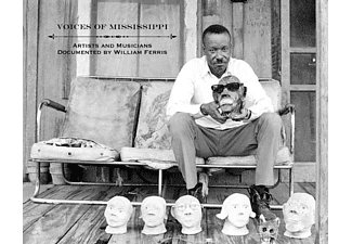 VARIOUS - Voices Of Mississippi: Artists & Musicians - (CD + DVD Video)