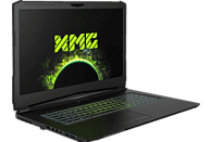 XMG PRO 17 - M18rkk, Gaming-Notebook, Gaming Notebook, Core™ i7 Prozessor, 32 GB RAM, 500 GB SSD, 1 GB HDD, GeForce® GTX 1070, Schwarz