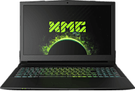 XMG A507 - M18, Gaming-Notebook, Gaming Notebook, Core™ i7 Prozessor, 8 GB RAM, 500 GB SSD, GeForce® GTX 1050 Ti, Schwarz